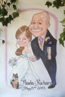Caricaturist for Weddings etc.