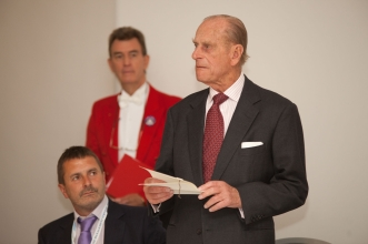 Glen with Duke of Edinburgh