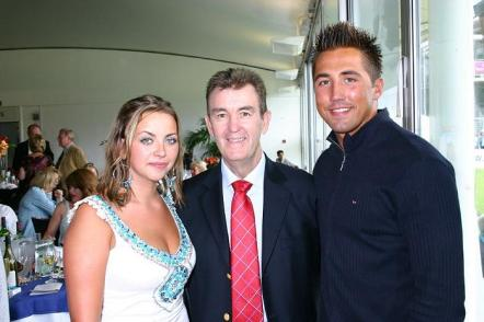 Singer Charlotte Church seen here with Glen at the Lady Taverners' Charity Lunch