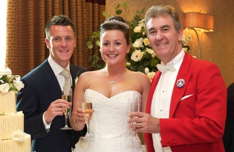 Glen at England Footballer Nick Shorey's wedding